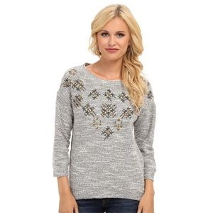 LUCKY BRAND x LUCKY LOTUS | EMBELLISHED PULLOVER